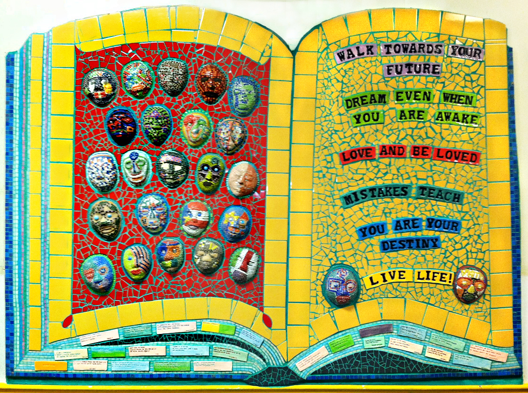 Bache Book grouted Claire Brill Mosaic Spaces