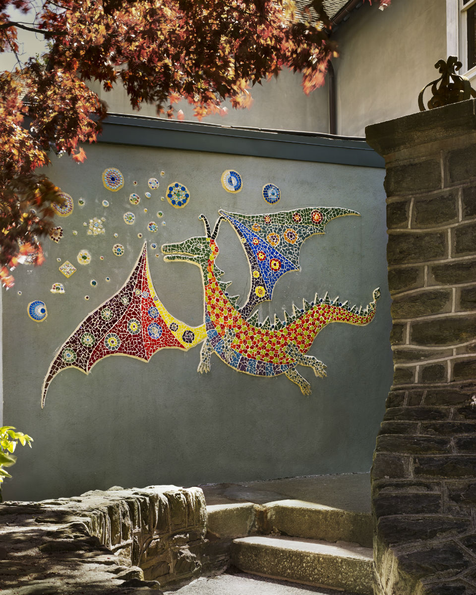 Dragon whole Claire Brill Mosaic Spaces