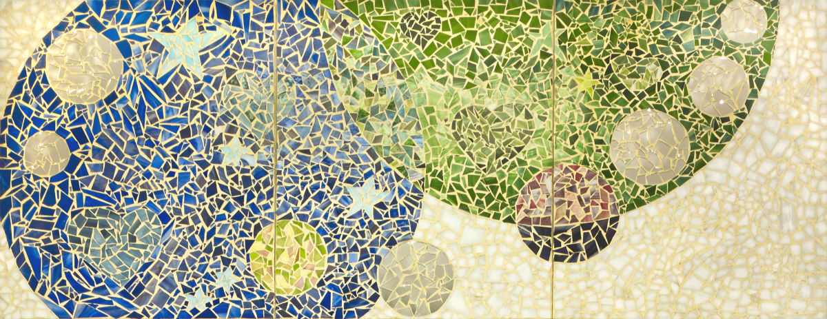 Pieces to Peace cropped but whole 1200 wide Claire Brill Mosaic Spaces