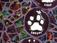 unity purple close up 900 Claire Brill Mosaic Spaces