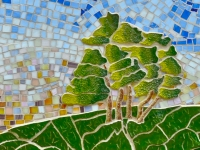 tree detail Claire Brill Mosaic Spaces