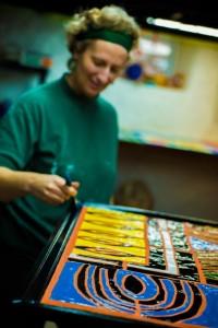 mosaic artist Claire Brill